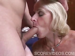 blonde Interior Decorator blowjob
