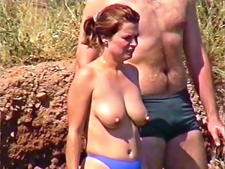 beach Famous Nipple Topless By The Lake big tits