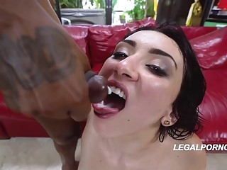 anal Big ass woman in garter belt and stockings, Mandy Muse got naked and fucked two black guys big ass