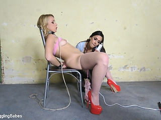 bdsm Rebecca Black & Ar in Rebecca Black Gets A Lesson From Ashley Ocean - KINK femdom