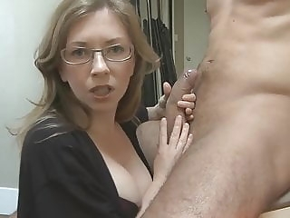 blowjob mom's girlfriend has chosen my dick mature
