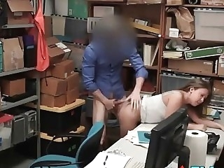 reality Security Guard Takes Sexual Advantage Of Teen Shoplifter amateur