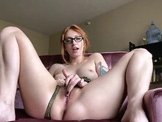 masturbation Frisky Rococo Royalle and the Great Glass Dildo dildo