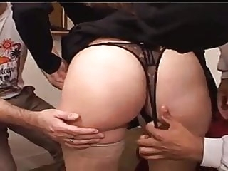 group sex XY, YOUNG WIFE'S FIRST HOME GANGBANG, HD interracial