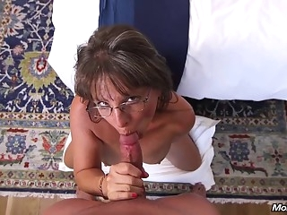 big tits Busty mature, Carry Ann got lots of cum on face after a hardcore fuck session hd