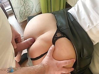 anal business meeting, home office anal fuck - business-bitch cumshot