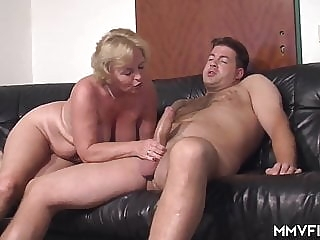 blonde Mature sex mature